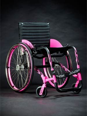 Paint job I want on my Tilite>>> See it. Believe it. Do it. Watch thousands of spinal cord injury videos at SPINALpedia.com
