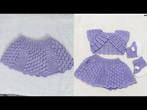 طريقة عمل تنورة جيبة بالكروشية بشرح مفصل قناة كروشية ام لين Youtube Crochet Top Lace Shorts Fashion