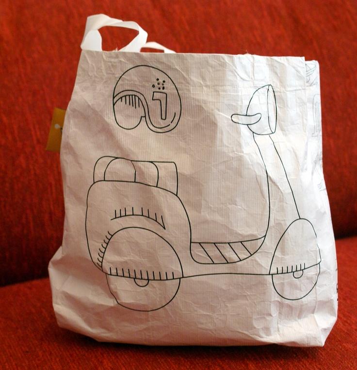 Bolsa para botines, autitos y todos los productos del caballerito!