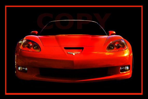 2013 Corvette 60th Anniversery by PaulMcWainPhoto on Etsy, $40.00