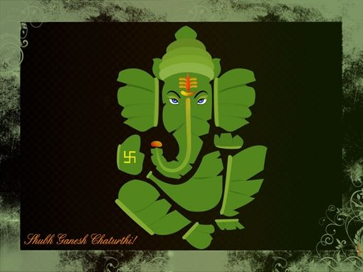 Ganesh Chaturthi Wallpapers, Greeting Cards & Glitter Graphics - Page 26
