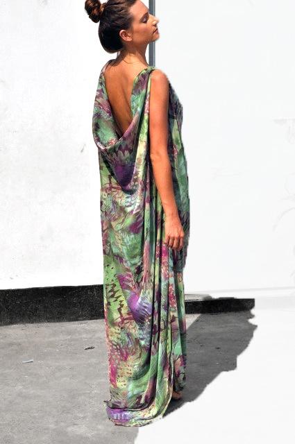 sari silk $289 dress http://www.embrossia.com.au/bachhara-bithi-sari-dress.html
