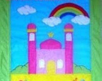 Muslimische Kinder Gebetsteppich von MuslimToysAndDollsCo auf Etsy