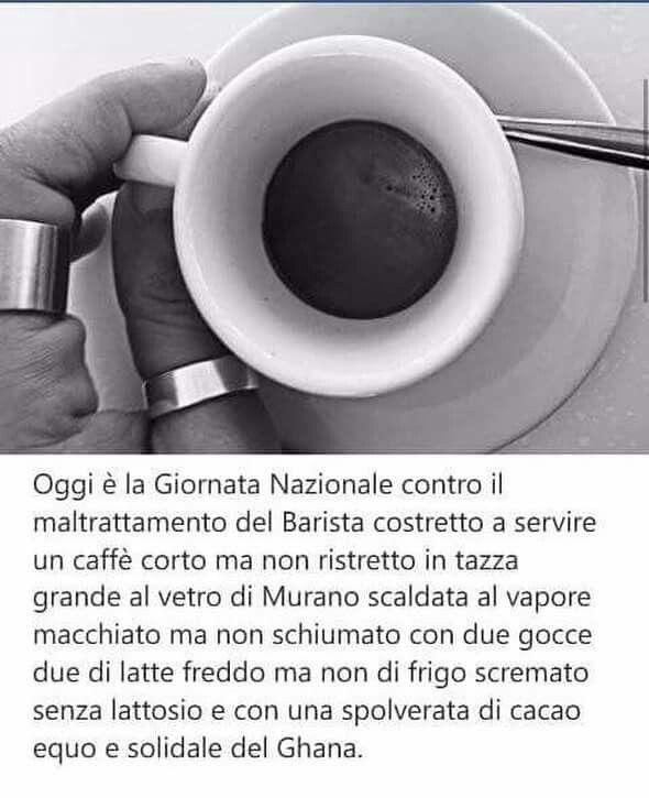 Caffè complicato...