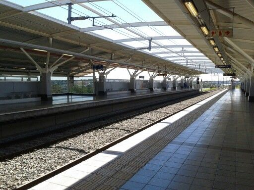 Gautrain Station Midrand South Africa