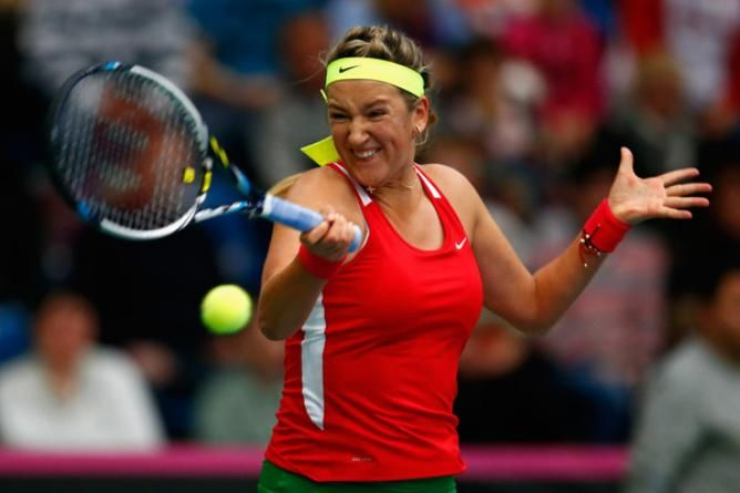 Victoria Azarenka shines in both singles and double to help Belarus beat Japan 3-2 in Fed Cup