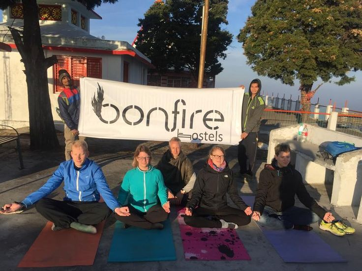 Learn #yoga by our professionals at Bonfire #Hostels in #Rishikesh. Get yourself boarded on the most exciting and unforgettable trip of your life