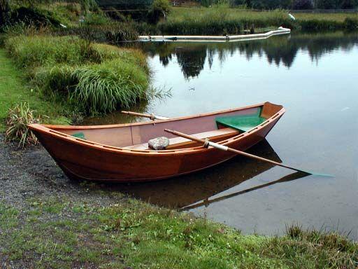 One day... wooden drift boat for Barrett