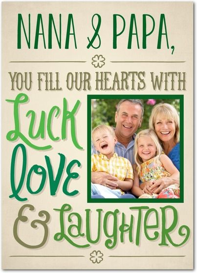 Blissful Hearts - St Patricks Day Cards in Sandstone | Magnolia Press: Card