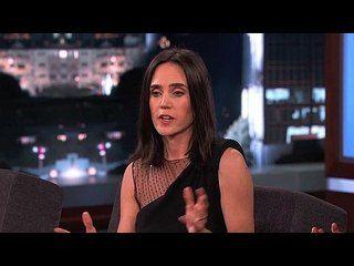 Jimmy Kimmel Live!: Jennifer Connelly, Rohan Chand, Sharon Jones & the Dap-Kings: Jennifer Connelly 2 -- Jennifer talks about her terrifying journey into an Icelandic volcano. -- http://www.tvweb.com/shows/jimmy-kimmel-live/season-12/jennifer-connelly-rohan-chand-sharon-jones-the-dap-kings--jennifer-connelly-2