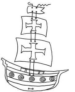 desenho de caravela para pintar - Bing Imagens
