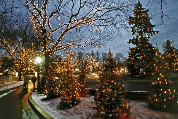 Hershey, Pennsylvania- Christmas Candy Lane.