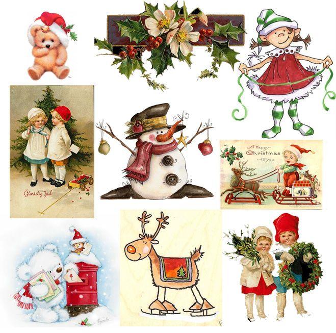 Вооруженные силы, новогодние маленькие открытки