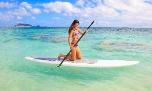 Groupon - One- or Two-Hour Paddleboard Rental with Optional Instruction from Miami Beach Paddleboard (Up to 67% Off) in miami beach paddleboards. Groupon deal price: $10