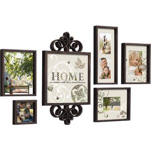 beyond words 6 piece vintage garden picture frame set antique brown walmart 20