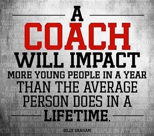 Thanks to all those great coaches