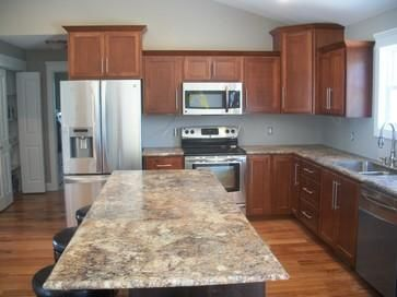 Lustig Custom Cabinets Chose Formica Antique Mascarello With IdealEdge For  This Traditional Kitchen Remodel In St.