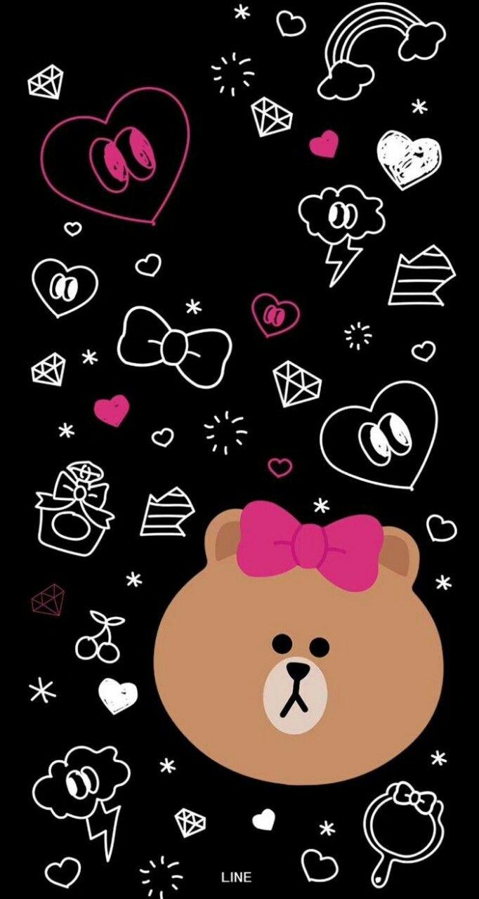 pin oleh dina razak di aesthetic beruang coklat ruang
