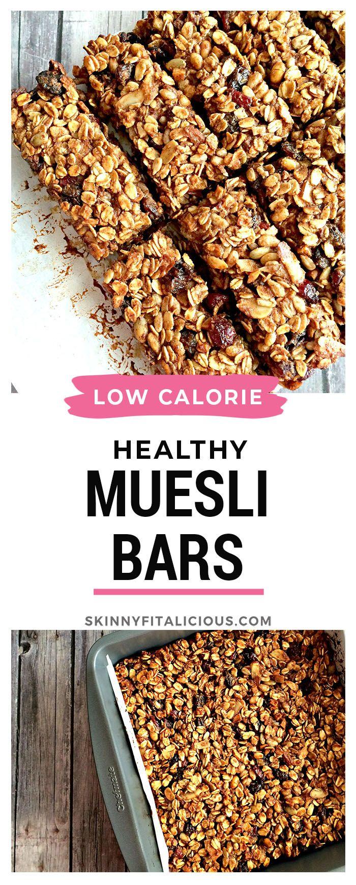 Healthy Muesli Hemp Bars In 2020 Low Calorie Vegan Healthy Granola Bars Healthy Low Calorie Meals