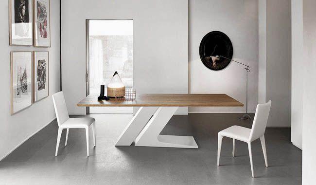 Bonaldo Tl Wood Dining Table Fixed Modern Dining Table Dining Room Design Modern Dining Room Furniture Modern