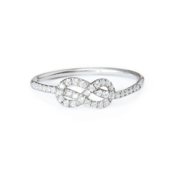 Best 25 Infinity ring diamond ideas on Pinterest