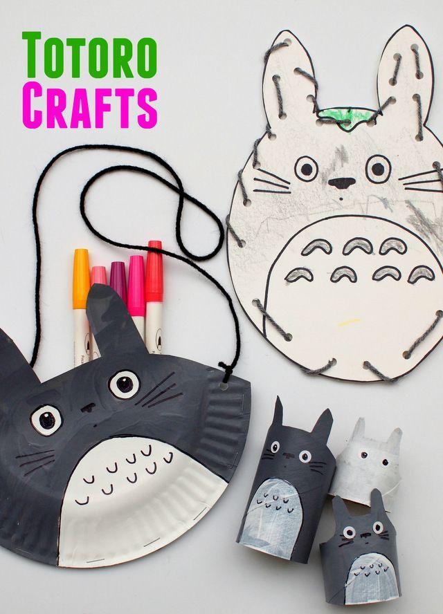 3 Totoro Crafts