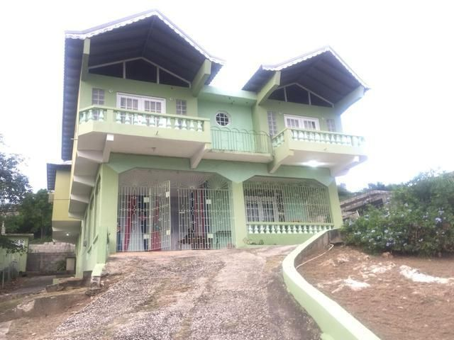 2 Storey 7 Bedrooms 4 Bathrooms House Located In The Upscale Community Of St Jago Heights Biznizout Com House Front House House Design