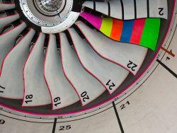 """gravity-one:  """" Rolls Royce Trent XWB - Fan  """""""