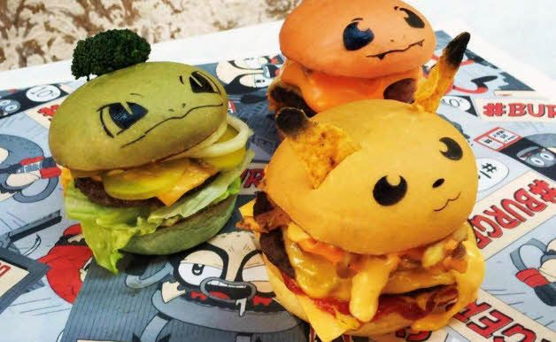 These Pokémon burgers are all the rage right now because they look adorable AND…