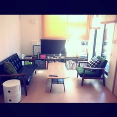 bochan's room photo, tags are Overview,カリモク60,コンポニビリ - RoomClip