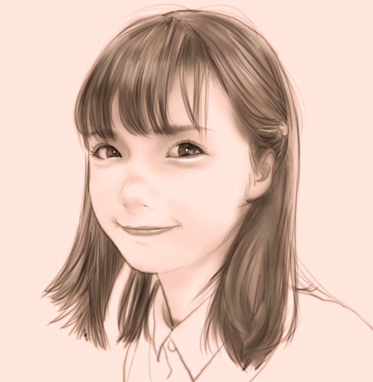 コスプレイヤー 茶叶小果(リンゴ)さん(@chayexiaoguo ) #似顔絵 #イラスト #イラストレーション #コスプレイヤー #中国 #茶叶小果 #リンゴ #caricature #illustration #portrait #artwork #drawing #cosplayer #cosplay #China #chayexiaoguo