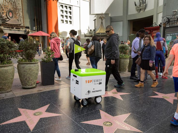 Celebrate the New Season of Top Chef With Free Delivery and Robots | Top Chef's season premiere means free Postmates, which just might be delivered by robots.