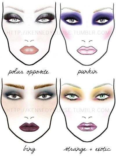 45 best makeup sketches images on pinterest mac face