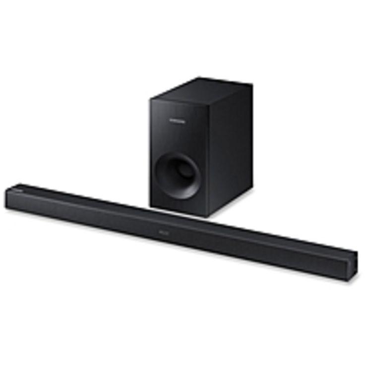 Samsung HW-K360 Sound Bar Speaker - Portable, Wall Mountable - Wireless Speaker(s) - Black - Surround Sound, Dolby Digital, DTS 2.0 Channel - Wireless LAN - Bluetooth - USB - Night Mode, Digital signal processing (DSP), Auto Power Link, TV SoundConnect