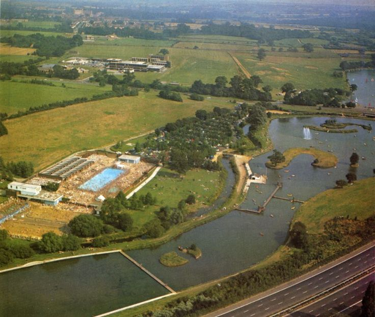 Stanborough pool as was -1972