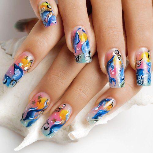 Disegni sulle unghie: come realizzare fiocchi, gattini e figure stilizzate - #nailart