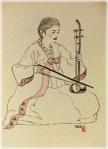 한국 전통 악기-해금