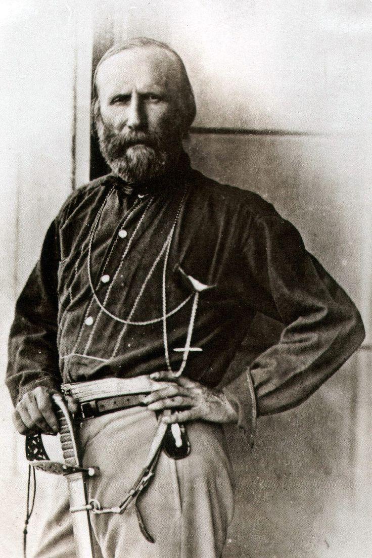 Giuseppe Garibaldi, revolucionario nacionalista italiano y líder de la lucha por la unificación e independencia de Italia. ÁLVARO M.