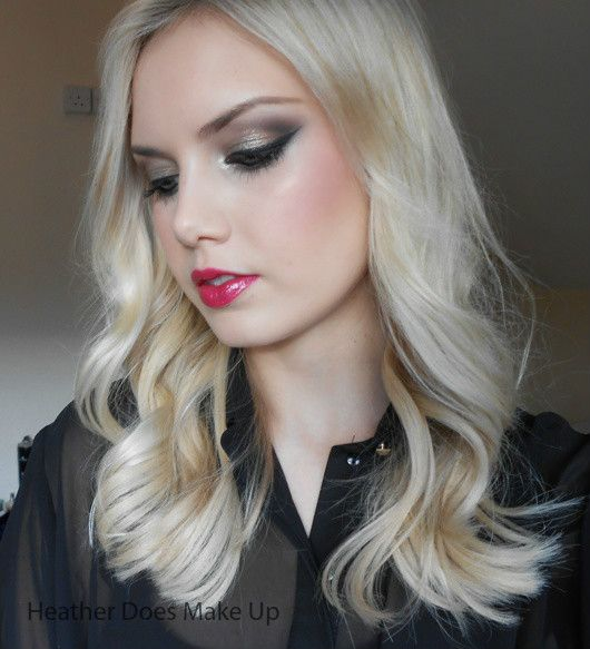 Heather Does Make Up: Antique Gold & Berry Pink FOTD