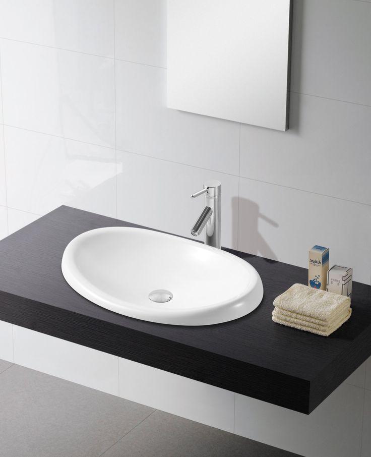 15 best images about lavabos de porcelana oval on for Embellecedor rebosadero lavabo