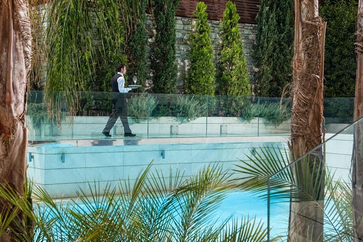 Serving the pool deck area - www.galaxy-hotel.com