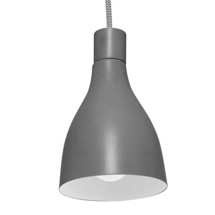 Leitmotiv 'Nofoot' Pendant Lamp - Dark Grey