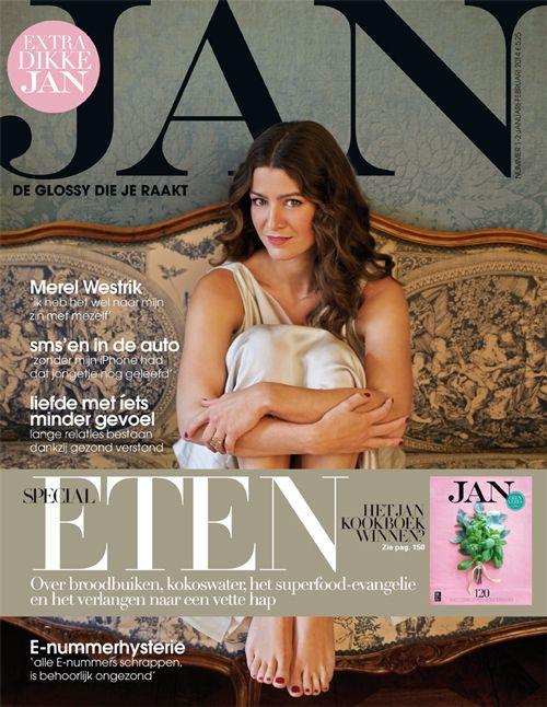 Merel Westrik | Cover JAN Magazine 1/2-2014