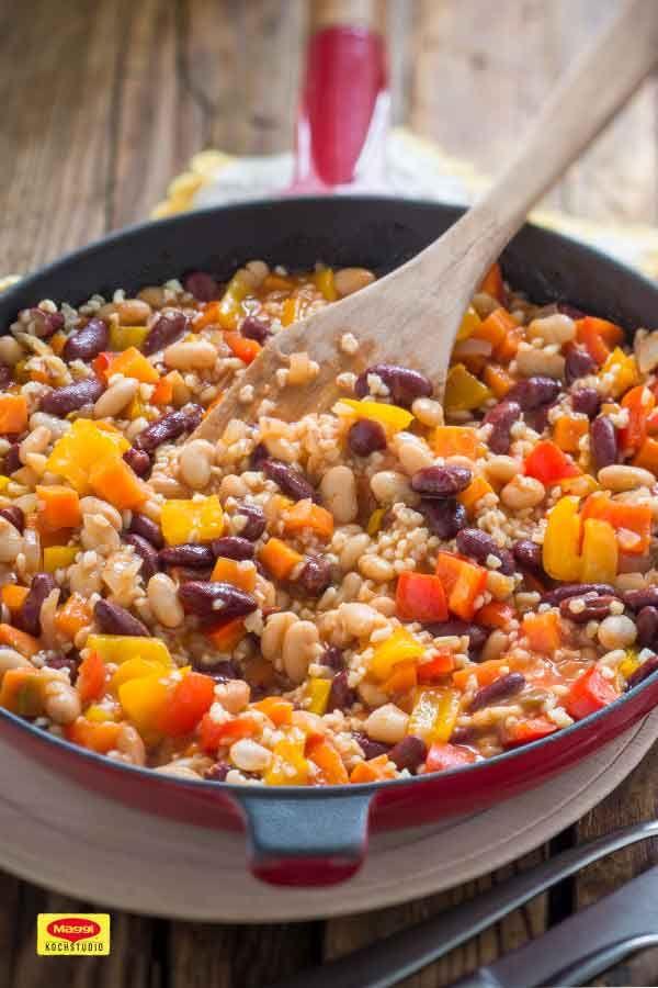 50++ Vegetarisches chili con carne Sammlung