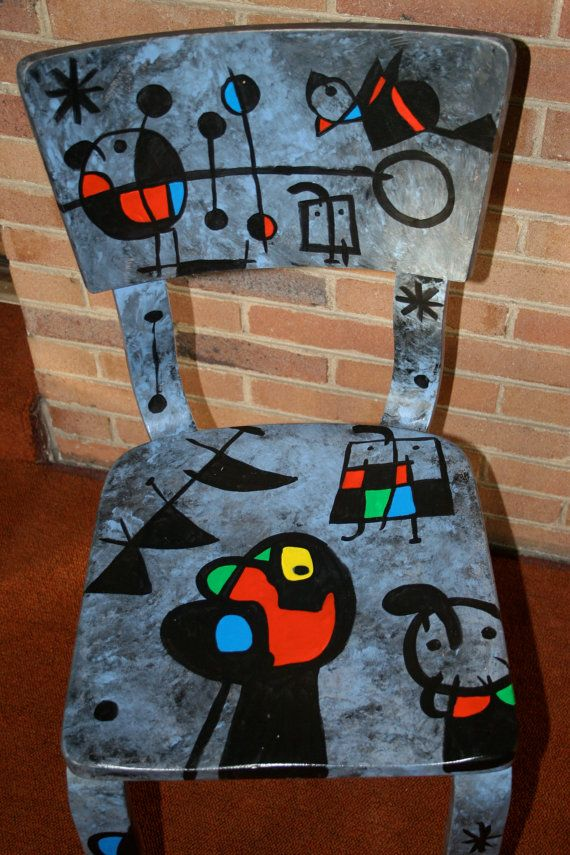 Miro chair Constellations by FendosArt on Etsy