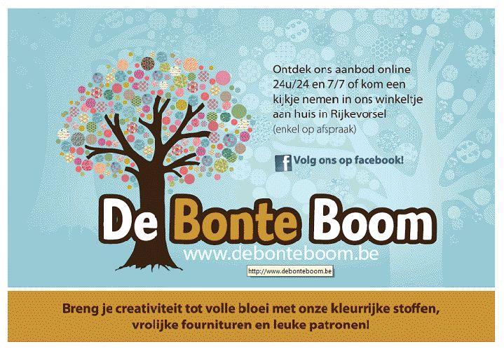 De Bonte Boom Gratis verzending vanaf 40€