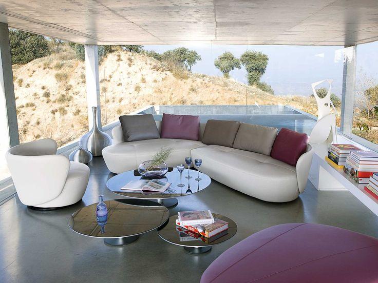 Top Roche Bobois Ovalis Modular Corner Sofa   Tones Of Home  AT44