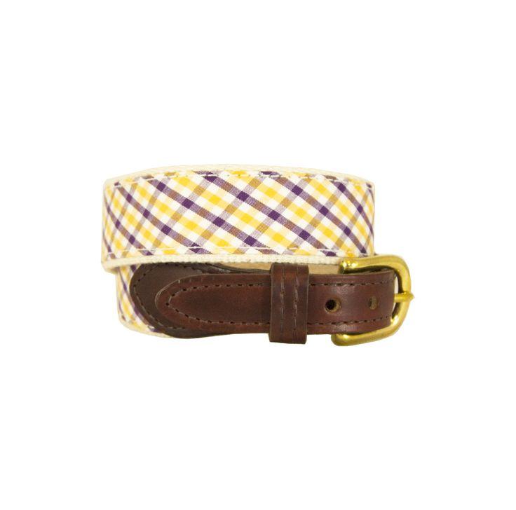 Children's Purple & Gold Belt
