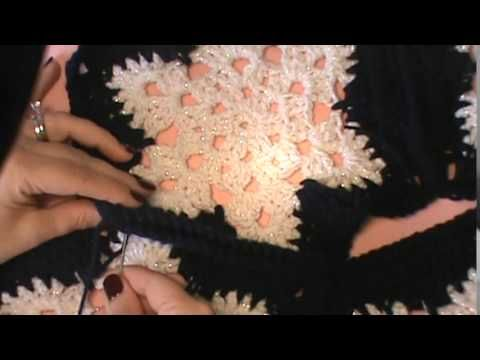 """""""Snowflake Afghan""""- The Joining Process - YouTube"""