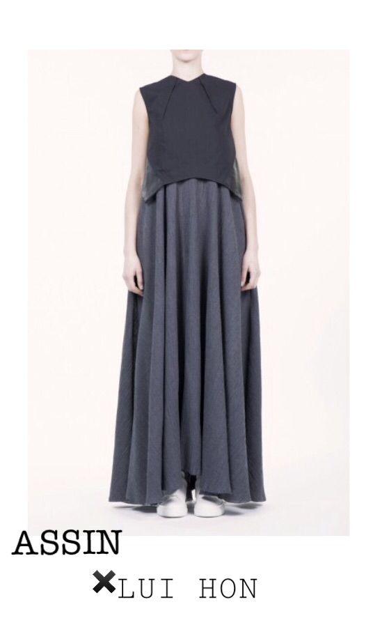 LUI HON is available at Assin   138 Little Collins St, Melbourne   +613 9654 0158   http://assin.com.au/shop/clothing/black-crossback-bodice-top/